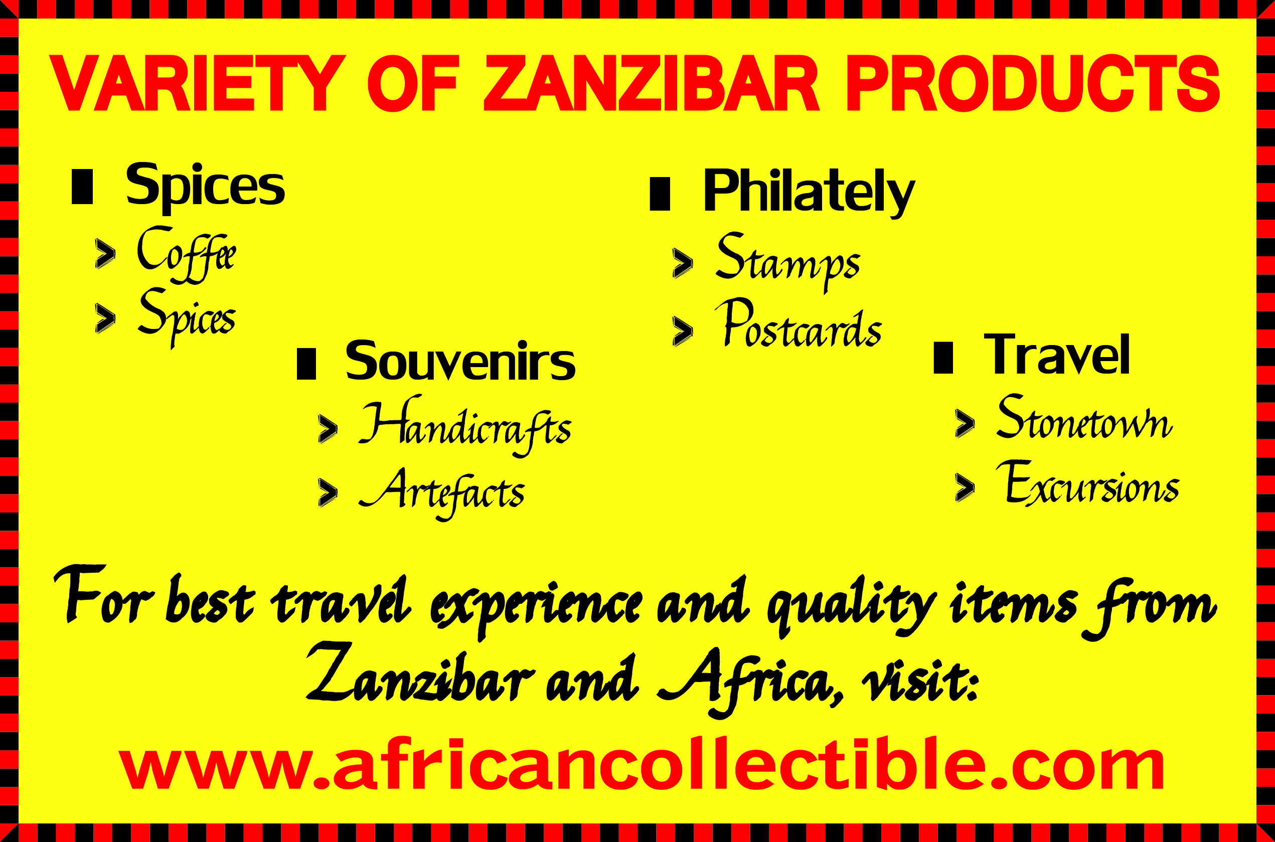 http://www.africancollectible.com